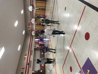 Students playig Sneetch Tag